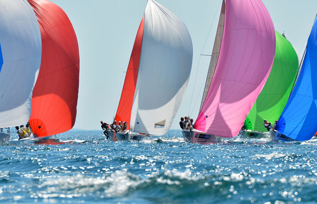 Sailing and regatta